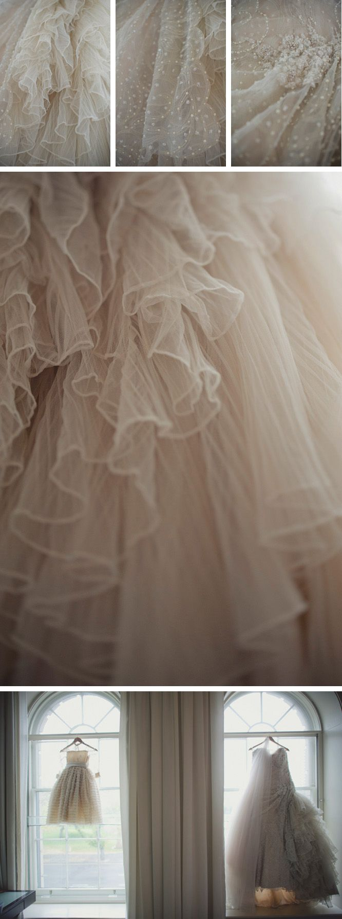 I adore swiss dot and tulle!