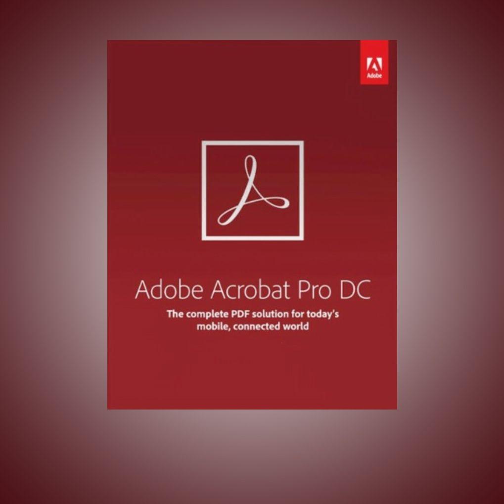 Adobe Acrobat Pro Dc 2019 Adobe Adobeacrobat Adobeacrobatpro