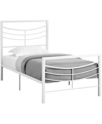 Monarch Specialties Twin Bed Over Max Reviews Home Macy S