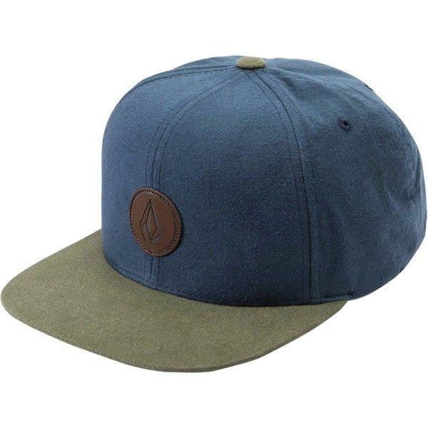 Medium Grey Volcom Quarter Fabric Snapback Hat New