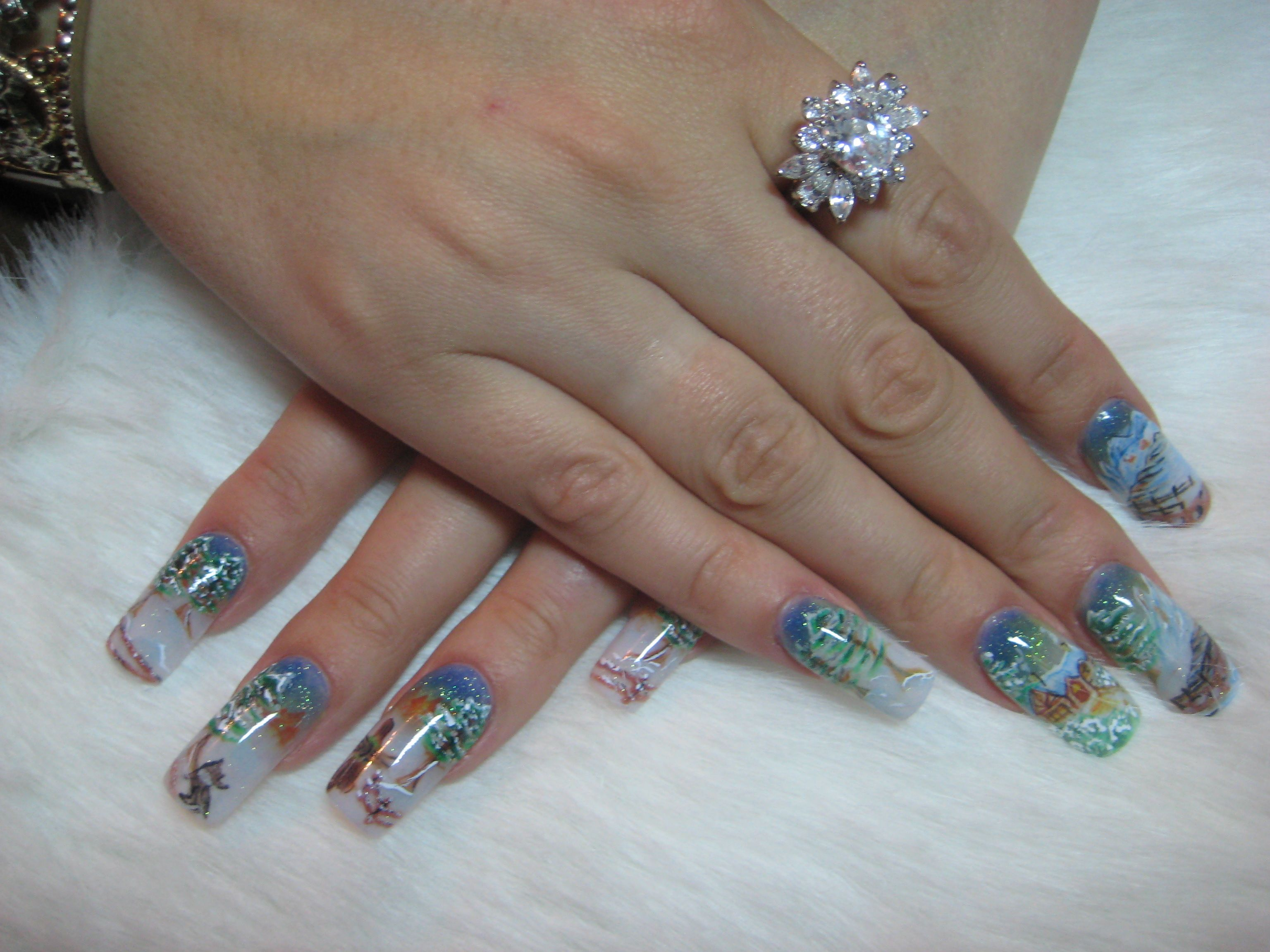 Nails by Tatiana Litvinov, Moldova