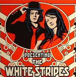 Resultado de imagen de the white stripes logo