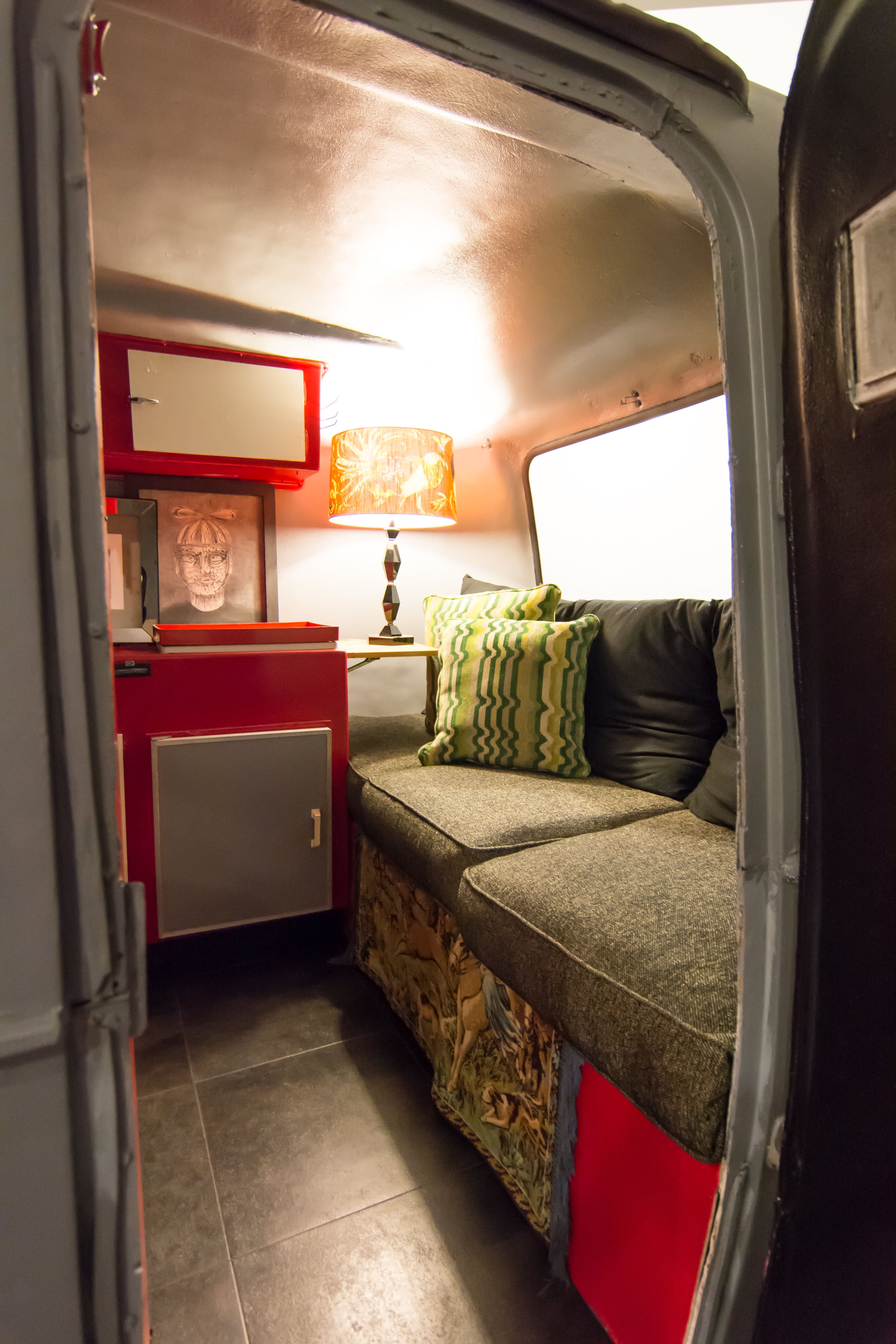 A Converted Hardware Shop Home with a 60s Camper Guest