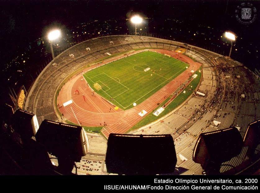 Estadio México 68, CU.