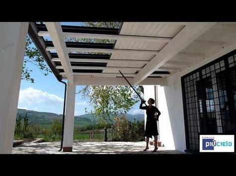 PERGOLA PIùCIELO prodotto Il Bersò srl YouTube Pergola