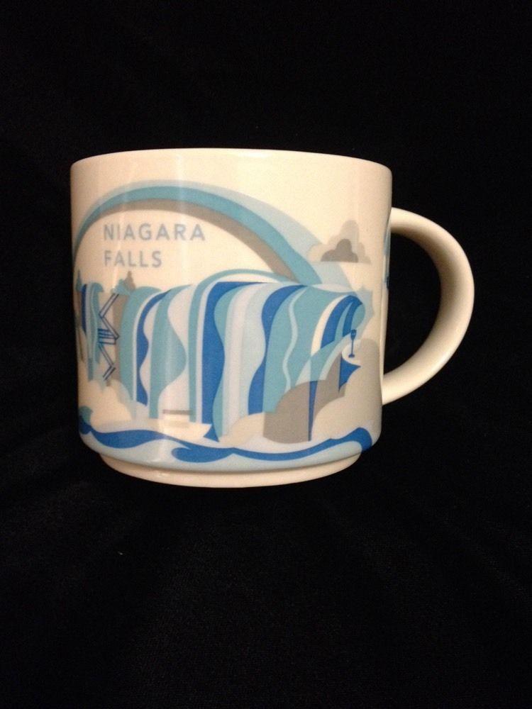 Niagara Mug Starbucks Falls New Are Yah You Here York Bridge Canada EIYbeD9H2W