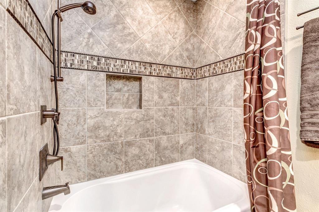Misty Meadow Lane Houston TX Photo Bath Tile - Bathroom tile houston