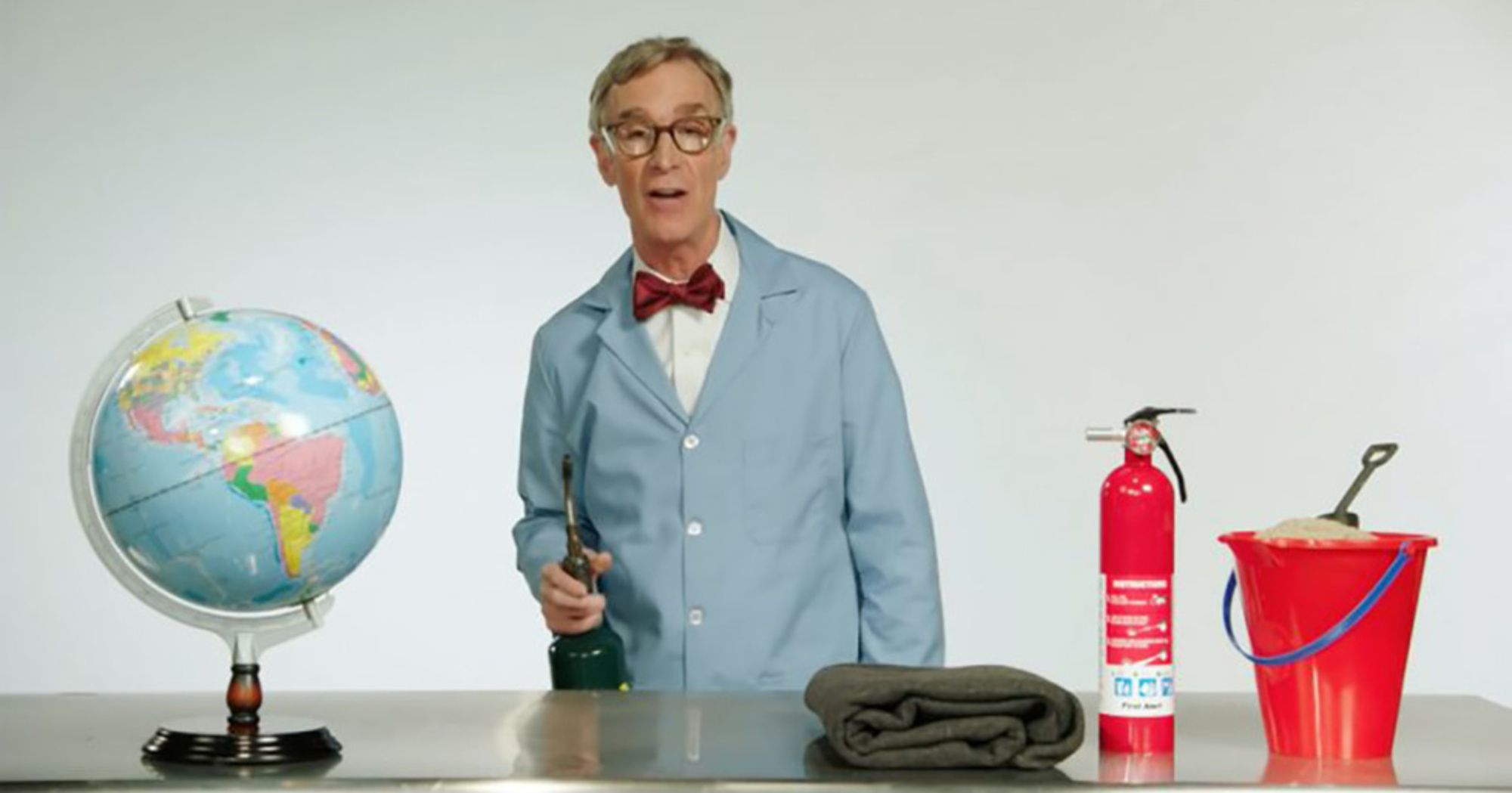 Climate Change The Planet S On F Ing Fire Bill Nye