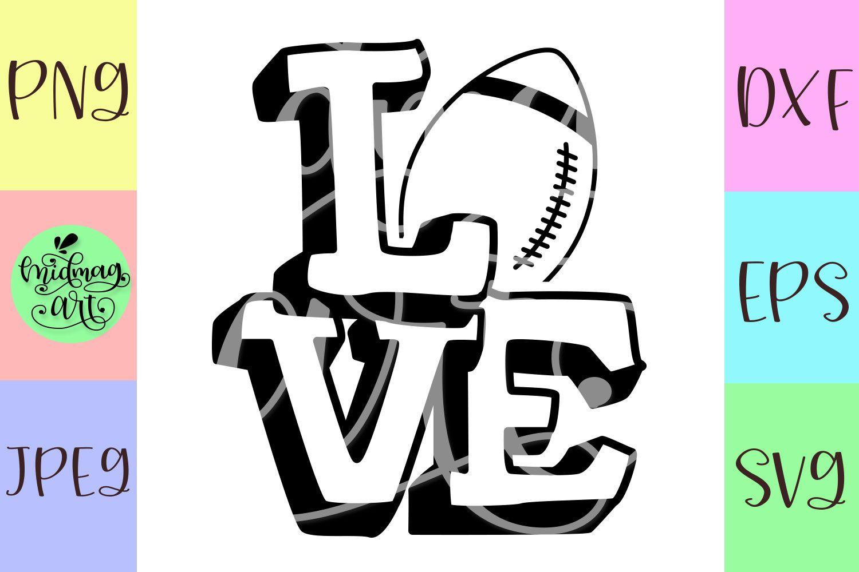 Download Love football svg, football mom svg, sports mom svg ...