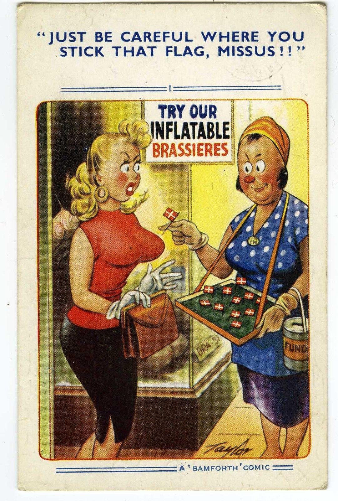 Pin on Saucy Seaside Postcards