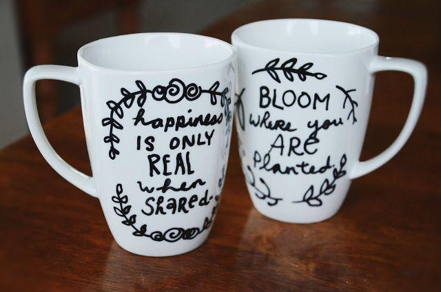 .: DIY Quote Mug