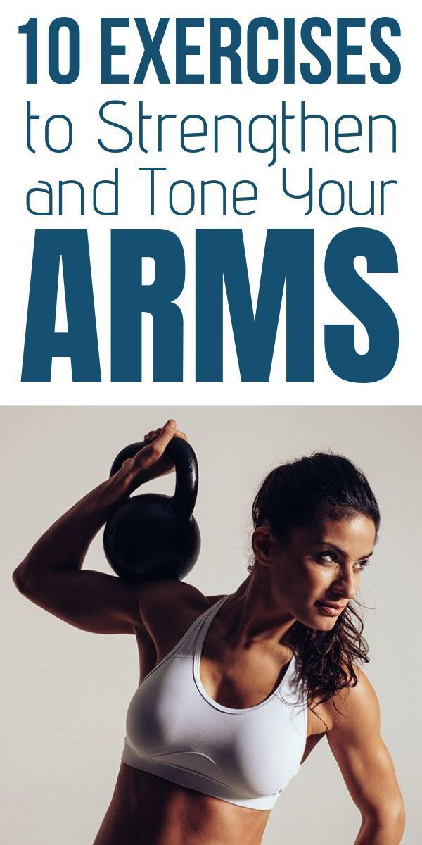 10 Exercises to Strengthen and Tone Your Arms #beginnerarmworkouts