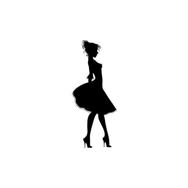 Silhouette Paintings Of Women Images Galleries With A Bite