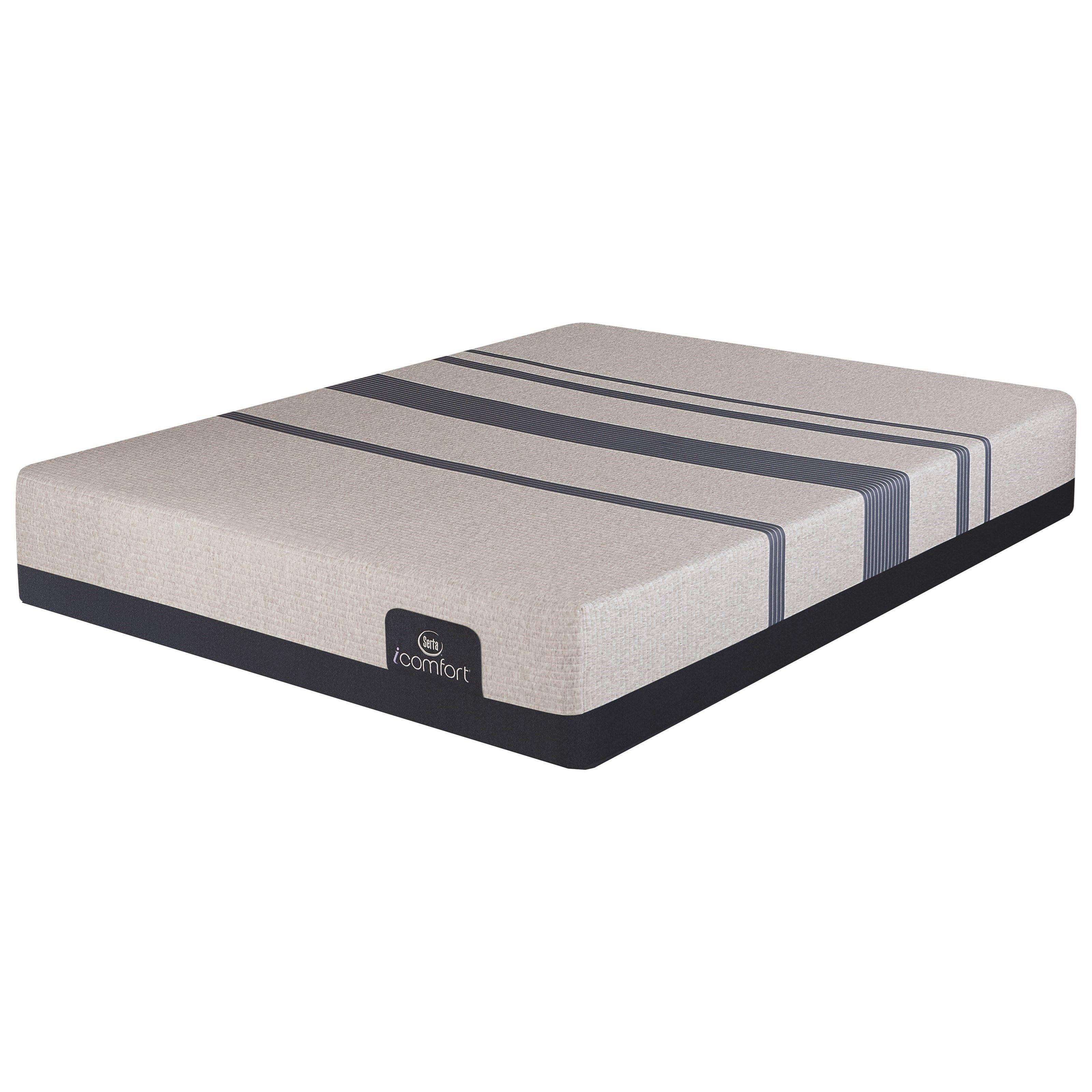 Icomfort Blue 300 Firm Queen Gentle Firm Gel Memory Foam Mattress By Serta At Crowley Furniture Yatak