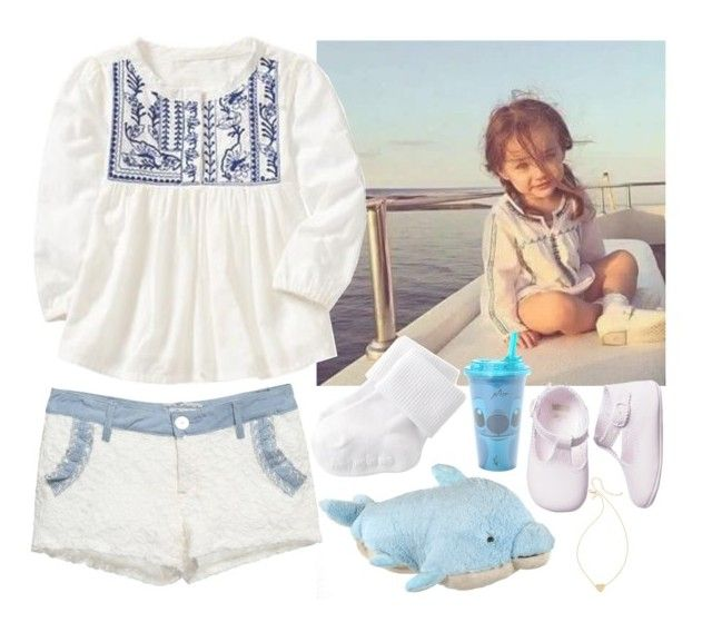 """Sky, my little girl"" by iarsotelo on Polyvore featuring Old Navy, BOBBY, Kate Spade y Disney"