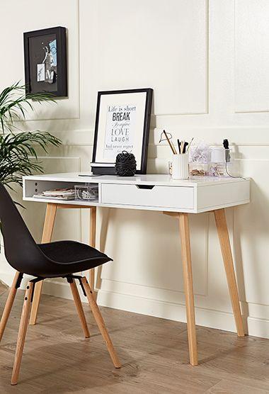 Bureau Scandinavisch Design.Jysk Favourites Bureau Wit Scandinavisch Wonen Jysk Hallway