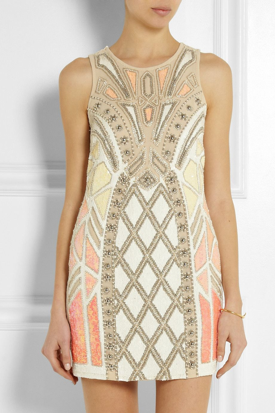 Needle Thread | Geo Sundown embellished chiffon mini dress | NET-A-PORTER.COMhttp://www.net-a-porter.com/product/435275/Needle_and_Thread/geo-sundown-embellished-chiffon-mini-dress