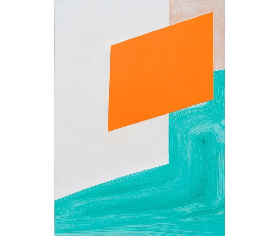 Rediscovering the Already Existent No:15 Lacquer and acrylic on wood 50x70cm
