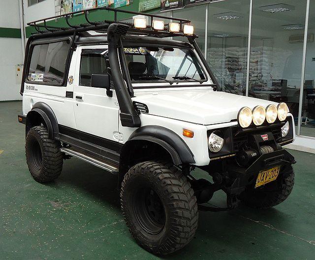 Suzuki Samurai 4x4 Preparados Buscar Con Google Suzuki Samurai Suzuki Jimny Suzuki