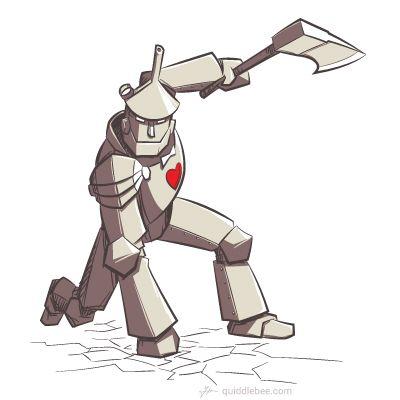 Tin And Iron Redux Tin Man Cool Art Art