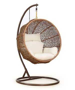Another great find on #zulily! Hanging Lounge Chair by International Design #zulilyfinds