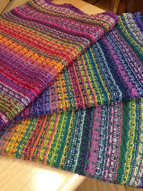 Debbiebs Handwoven Rainbow Candy Napkins Weave It More
