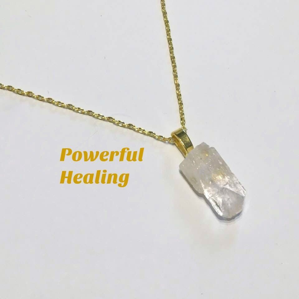 Danburite crystal necklace
