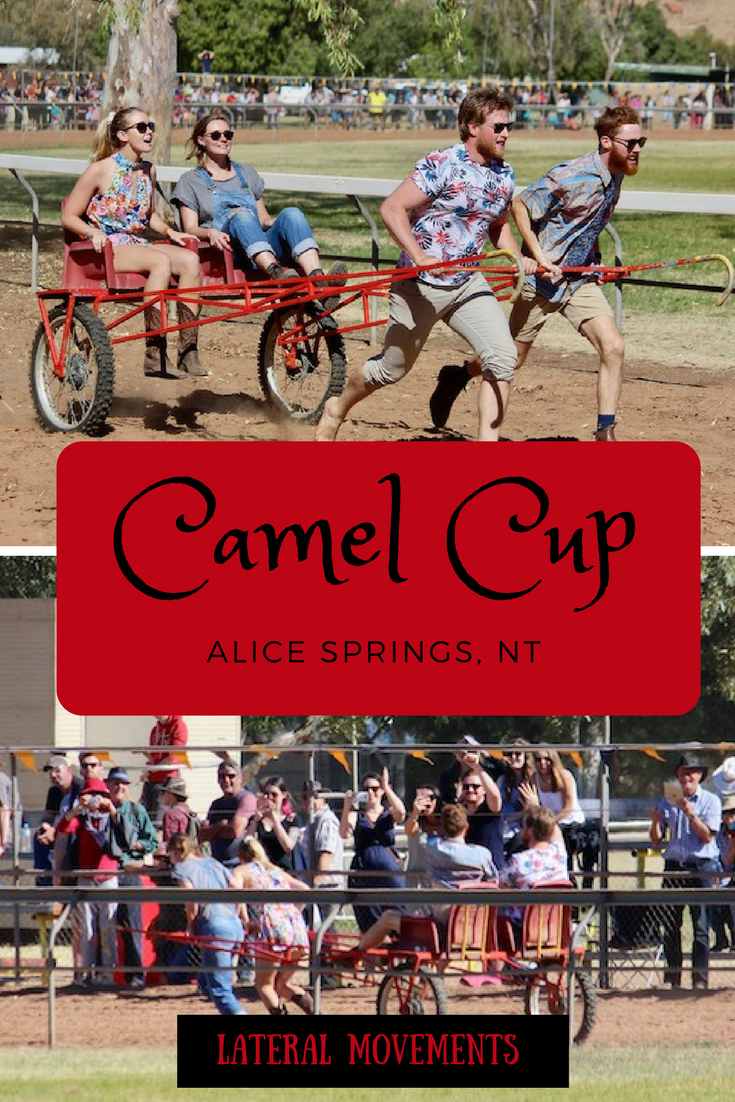 2017 Alice Springs Camel Cup in Pictures: It's not just the camels who do the racing.