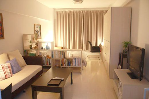 Small Apartment Inspiration 1 Design, Furniture For 1 Bedroom Apartment