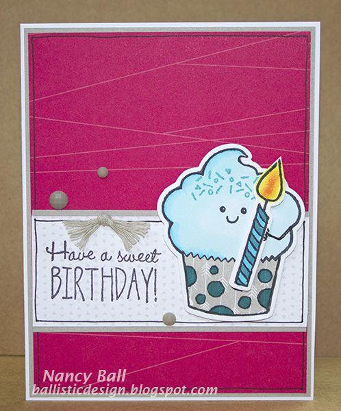 nancy's crafty blog  happy birthday cards ctmh cards