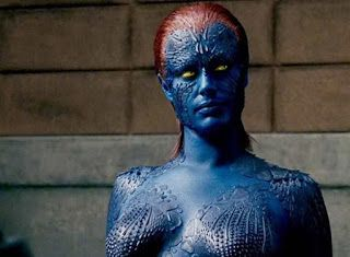 Top 10 Most Evolved Science Fiction Characters Mystique Costume Mystique Xmen Rebecca Romijn Mystique
