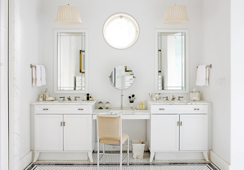 Two Single Vanities Can Make A Double Sink Bathroom If You Are