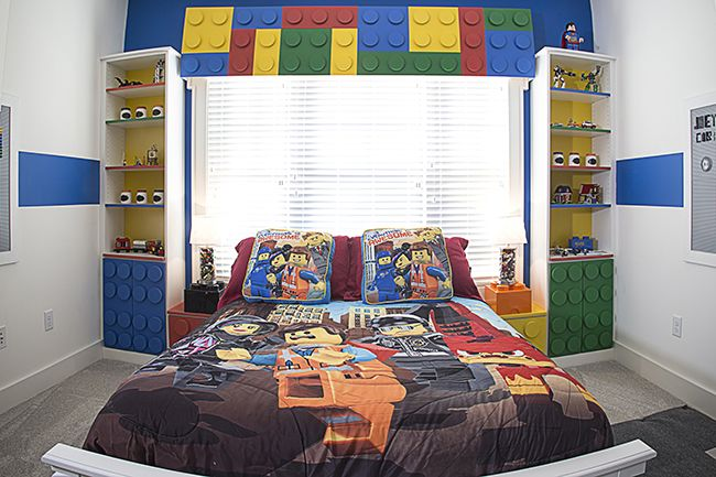 Designed by Closet Factory Hampton Roads, this boy\'s room features ...