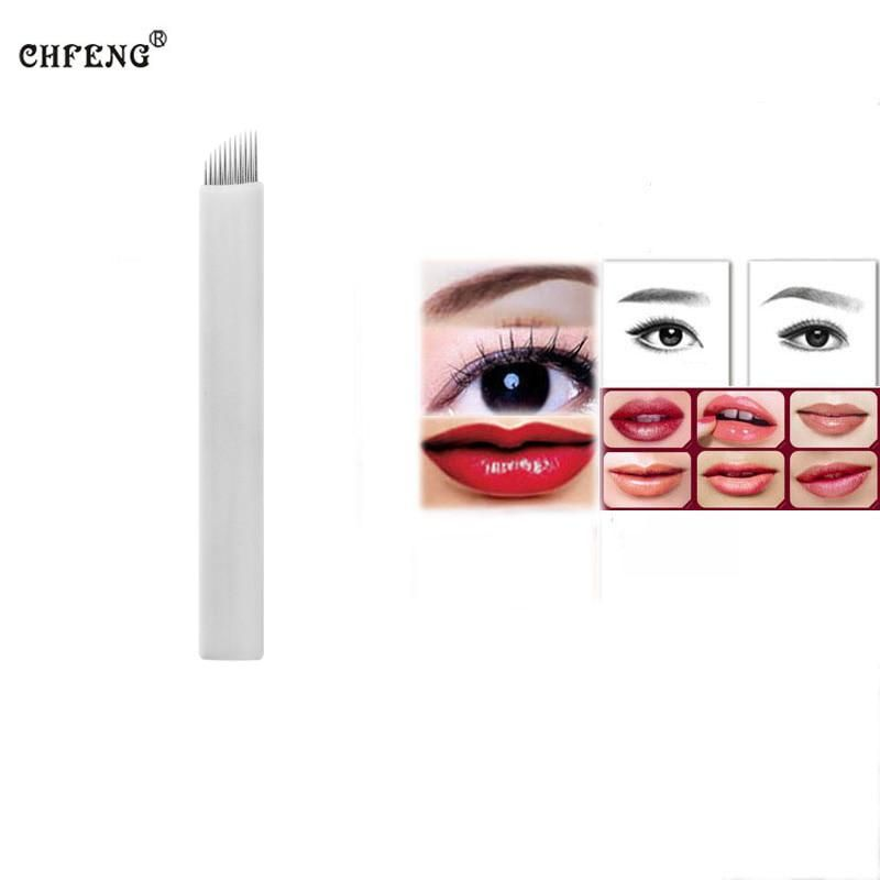 Eyebrow tattoo blades 20pcs 11pin lip eyeline permanent