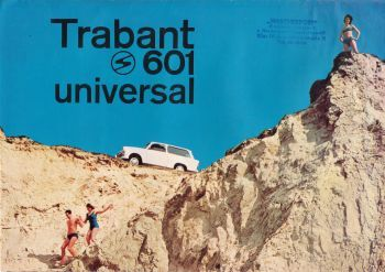 Prospectus Trabant 601 Universal 1965