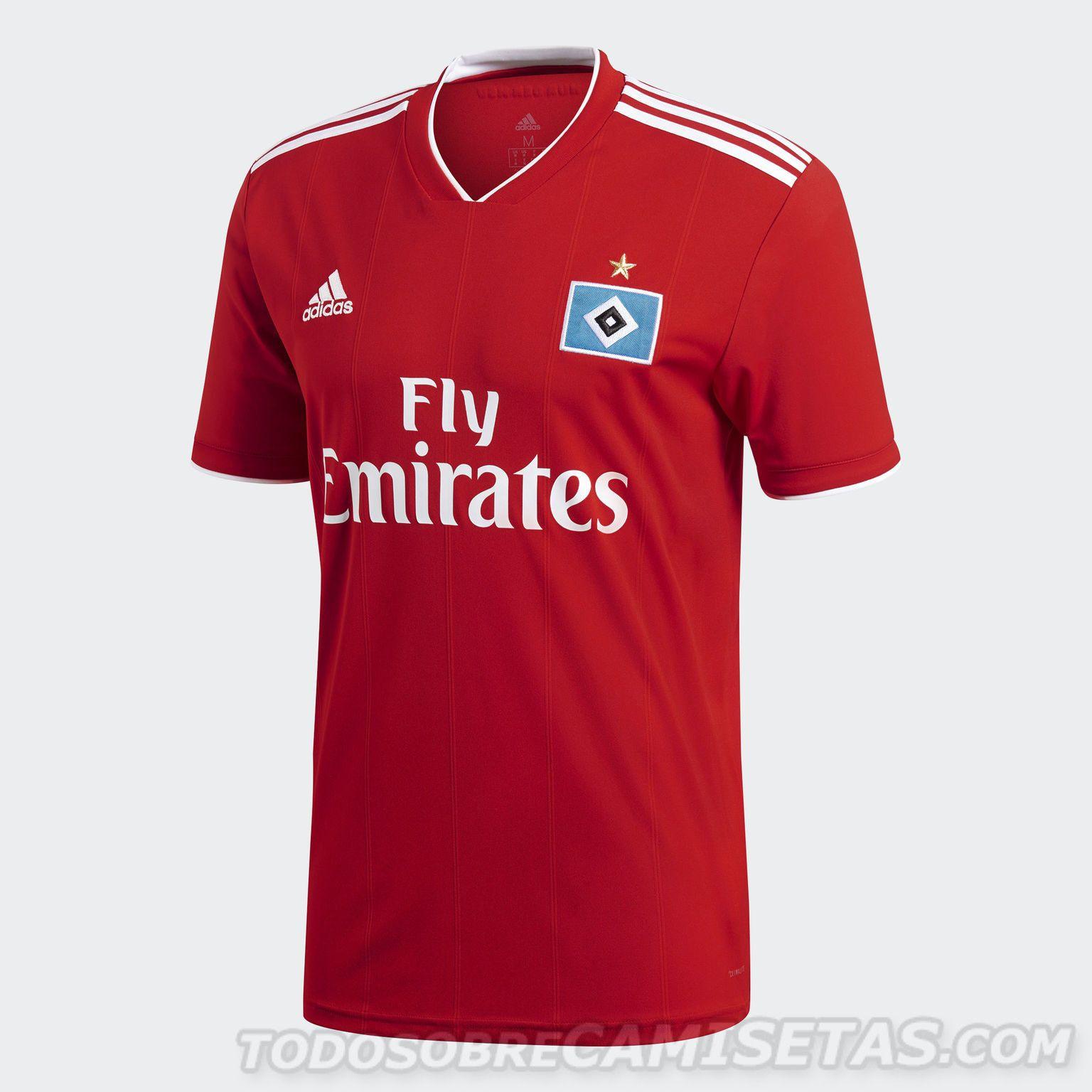 Adidas Hamburger SV Trikot 20172018