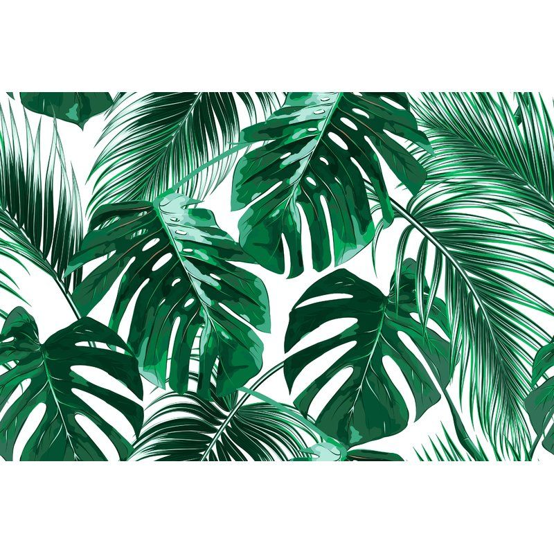 "Bannan Removable Tropical Palm Leaves 10.42' L x 197"" W"