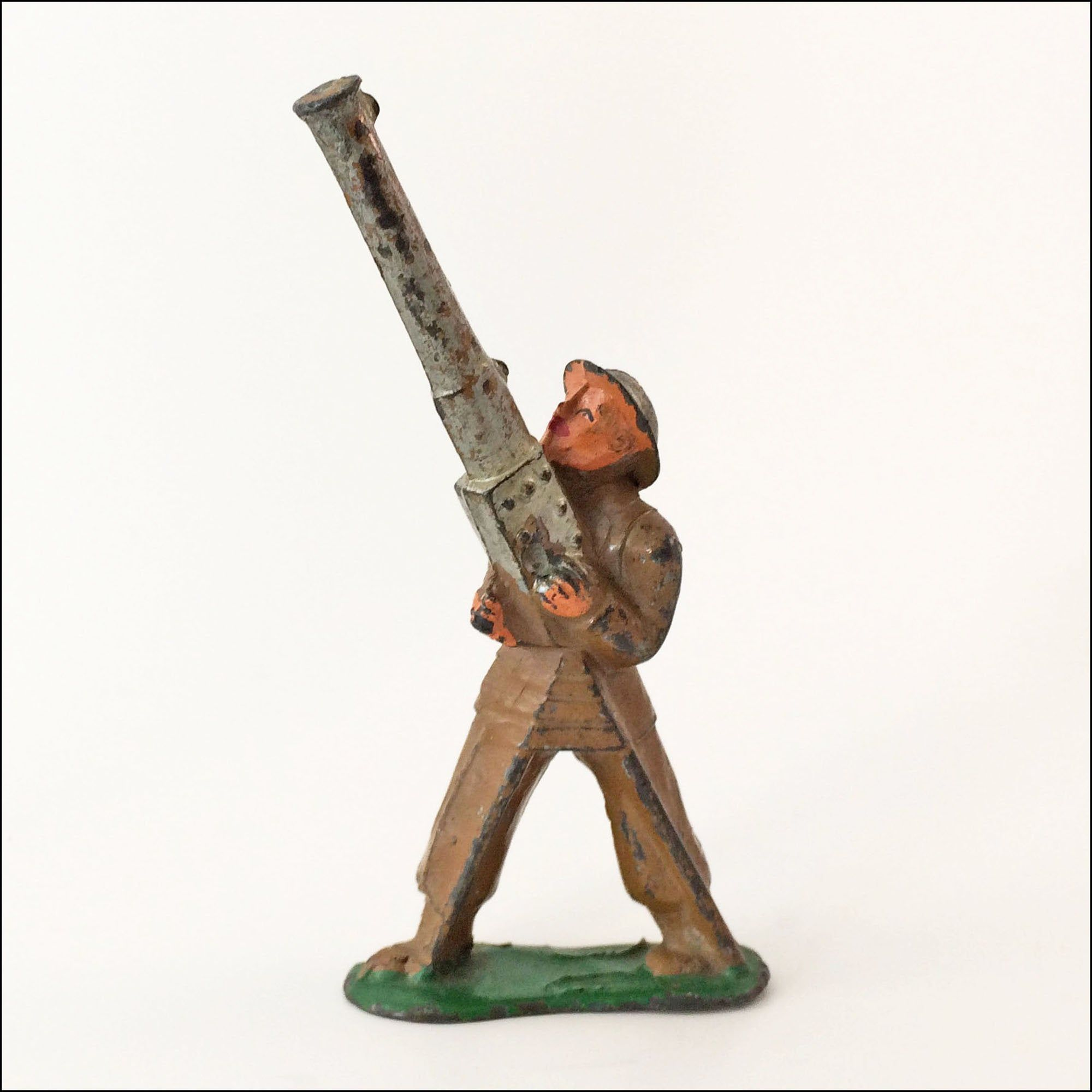 Vintage Toy Soldier Barclay Cast Lead 774 AntiAircraft