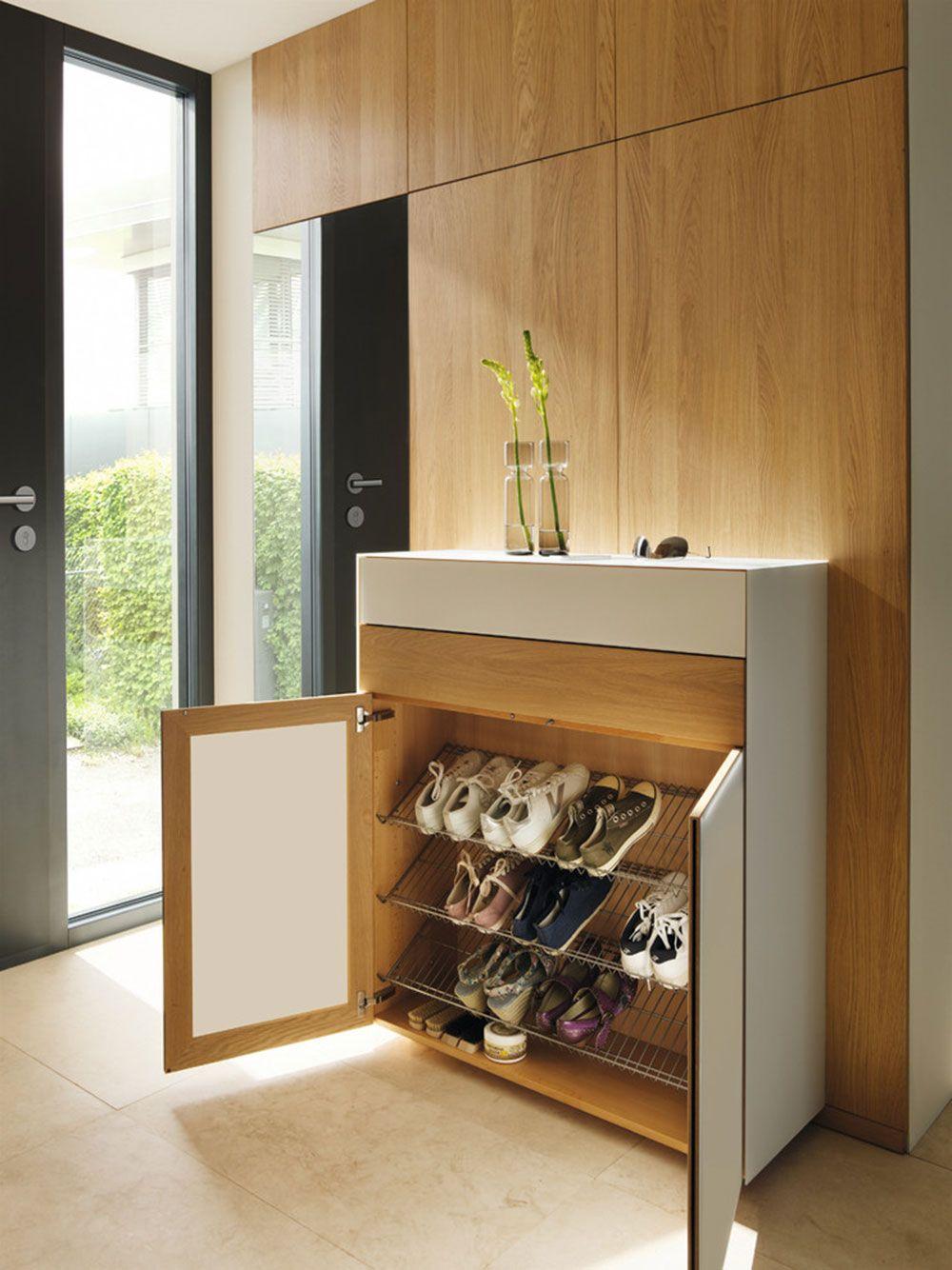 14 diff rentes id es de rangement pour chaussures. Black Bedroom Furniture Sets. Home Design Ideas