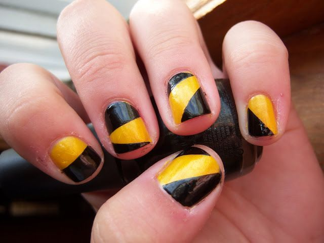 Brittany\'s Secret: Let\'s Go Hawkeyes! Beat State!   nails   Pinterest