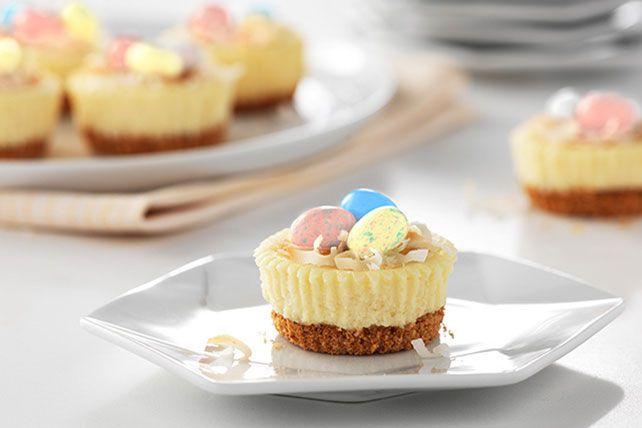 Philadelphia Easter Mini Cheesecakes Image 2 Dessert