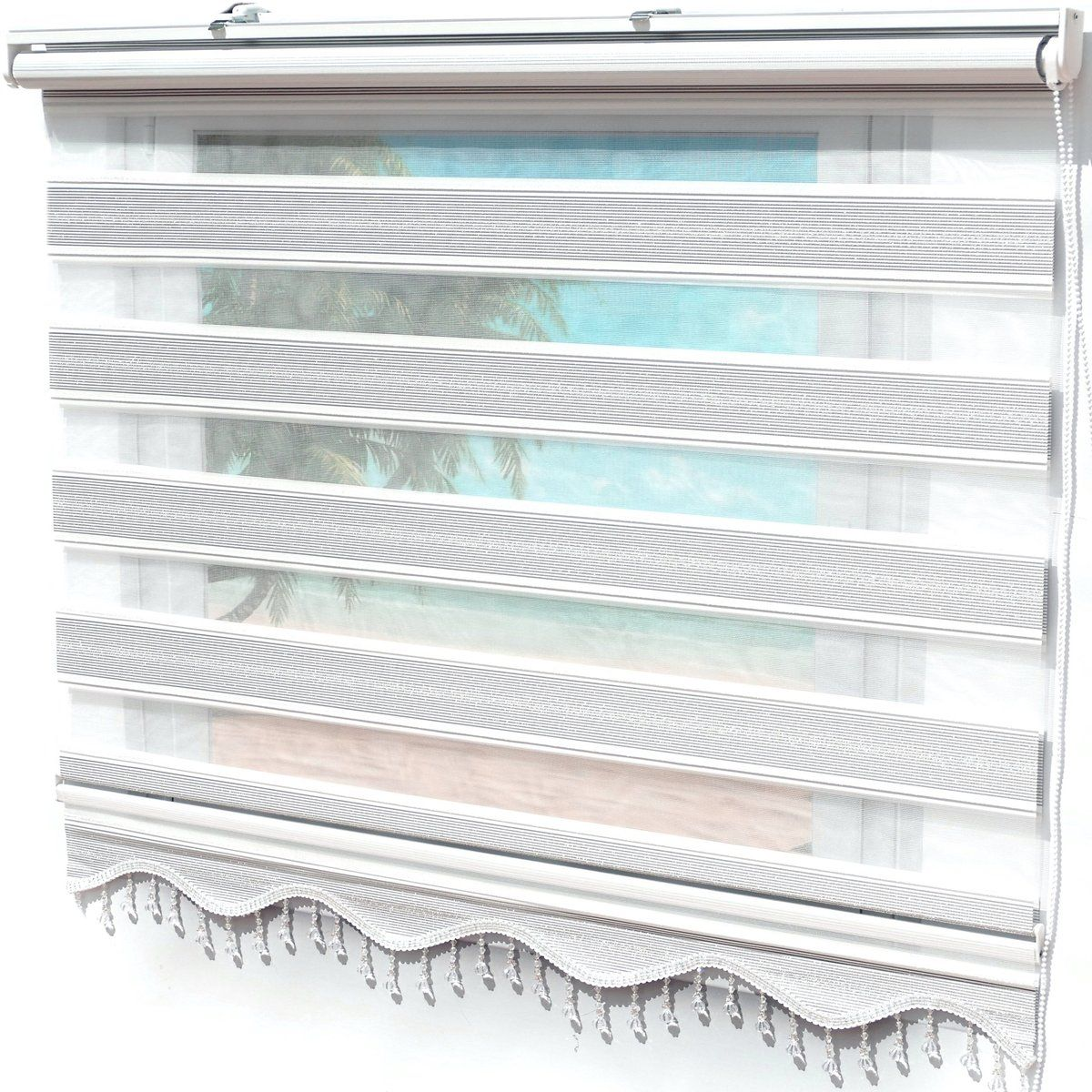 Doppelrollo Klemmfix Duorollo Zebra Perde Blickdicht Grau Silber Brillant Gardinen In 2020 Teppich Design Fensterrollo Blickdicht