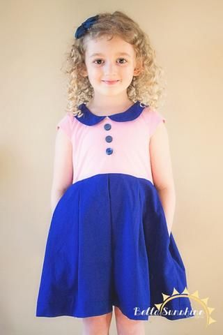 Alice Pleated Dress - available at www.UpCraftClub.com A PDF sewing pattern  for a girls dress 3242f8768