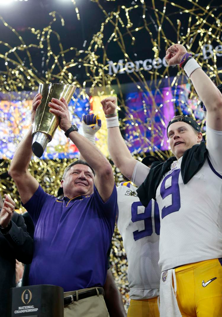 Photos Lsu Tigers Are The 2020 National Champions In 2020 Lsu Lsu Tigers National Champions