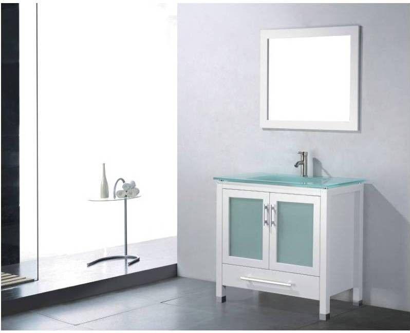 BT-ADORNUS Amara 36-Inch Modern Bathroom Vanity Set - White