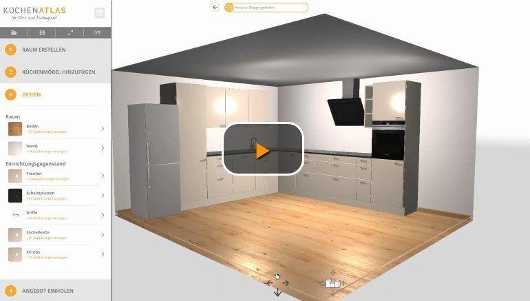 Küchenplaner demovideo starten