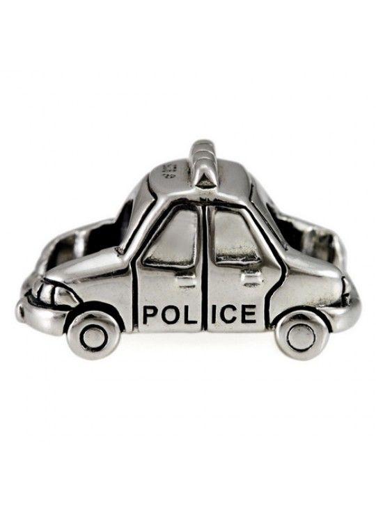 Police Car | Pandora! | Police cars, Beads, Car