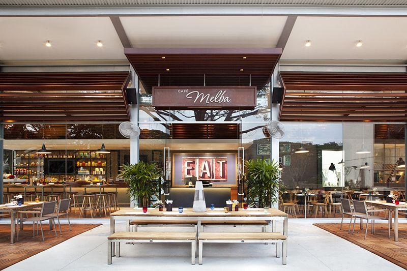 Cafe Melba Coffee shop design, Restaurant design