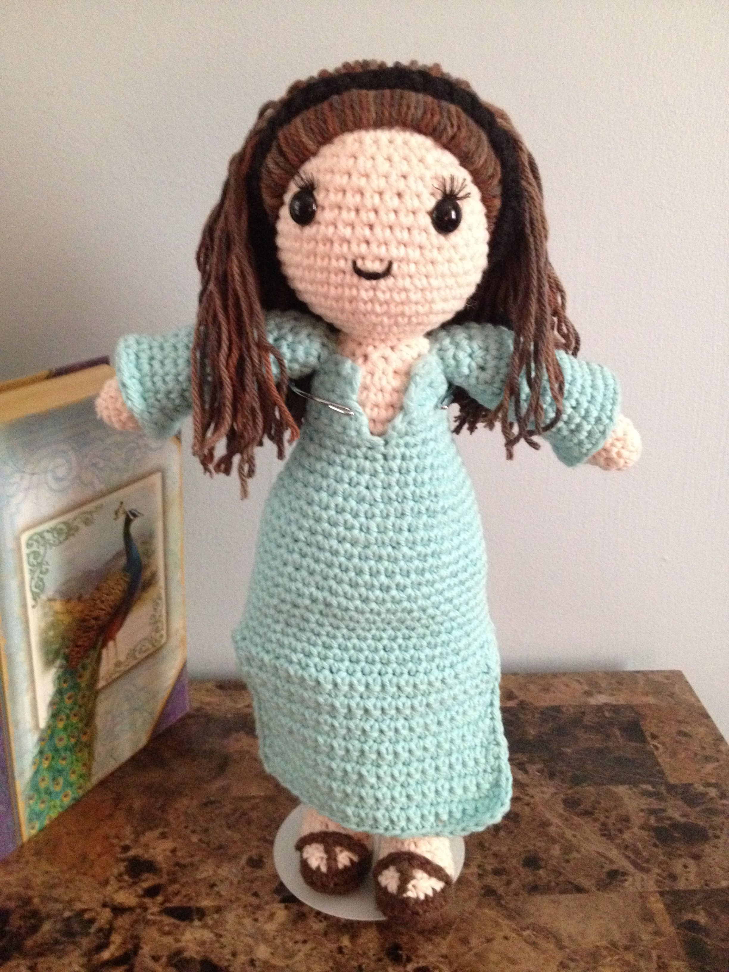 Meet 'Gracie' Snuggleheart™...Oops...I forgot her signature Heart for her hair....