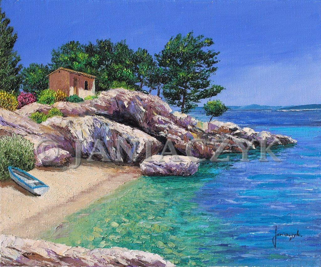 La Petite Calanque Arts Painting Pinterest Painting And Art